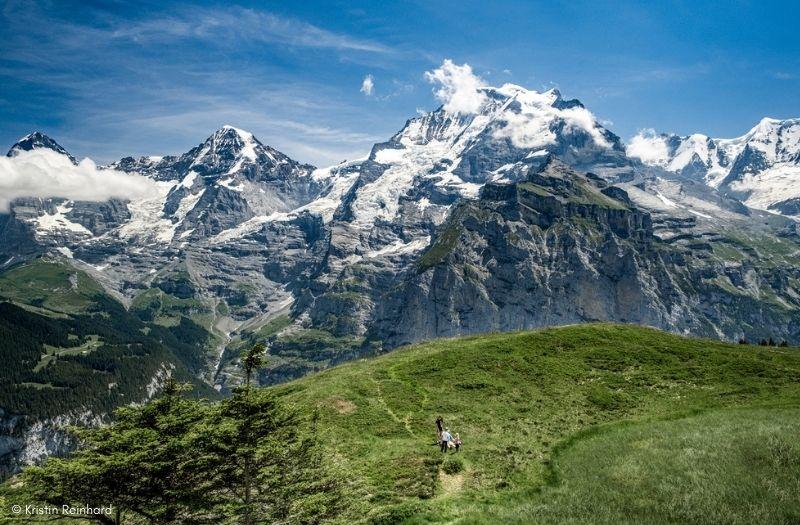 Alps near Murren